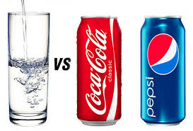 We strongly prefer water over soda. In the Cokve vs. Pepsi taste wars, though, customers clearly preferred the taste of Pepsi. We think folks will like Bikram best, too. If we can just get them to try it!
